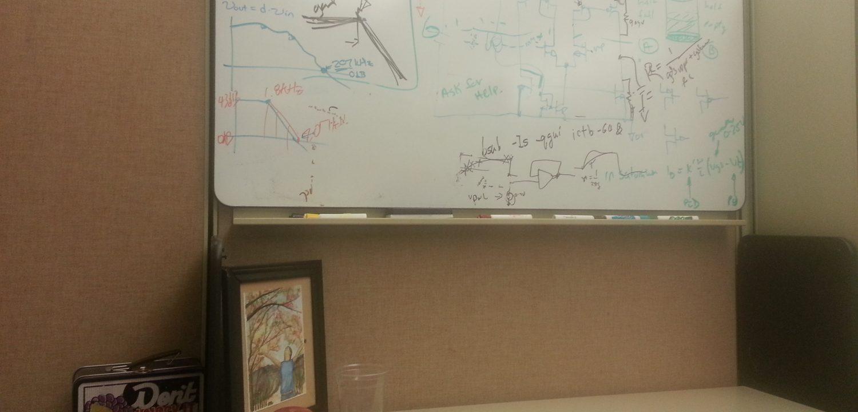 Amber Nicole's engineer whiteboard