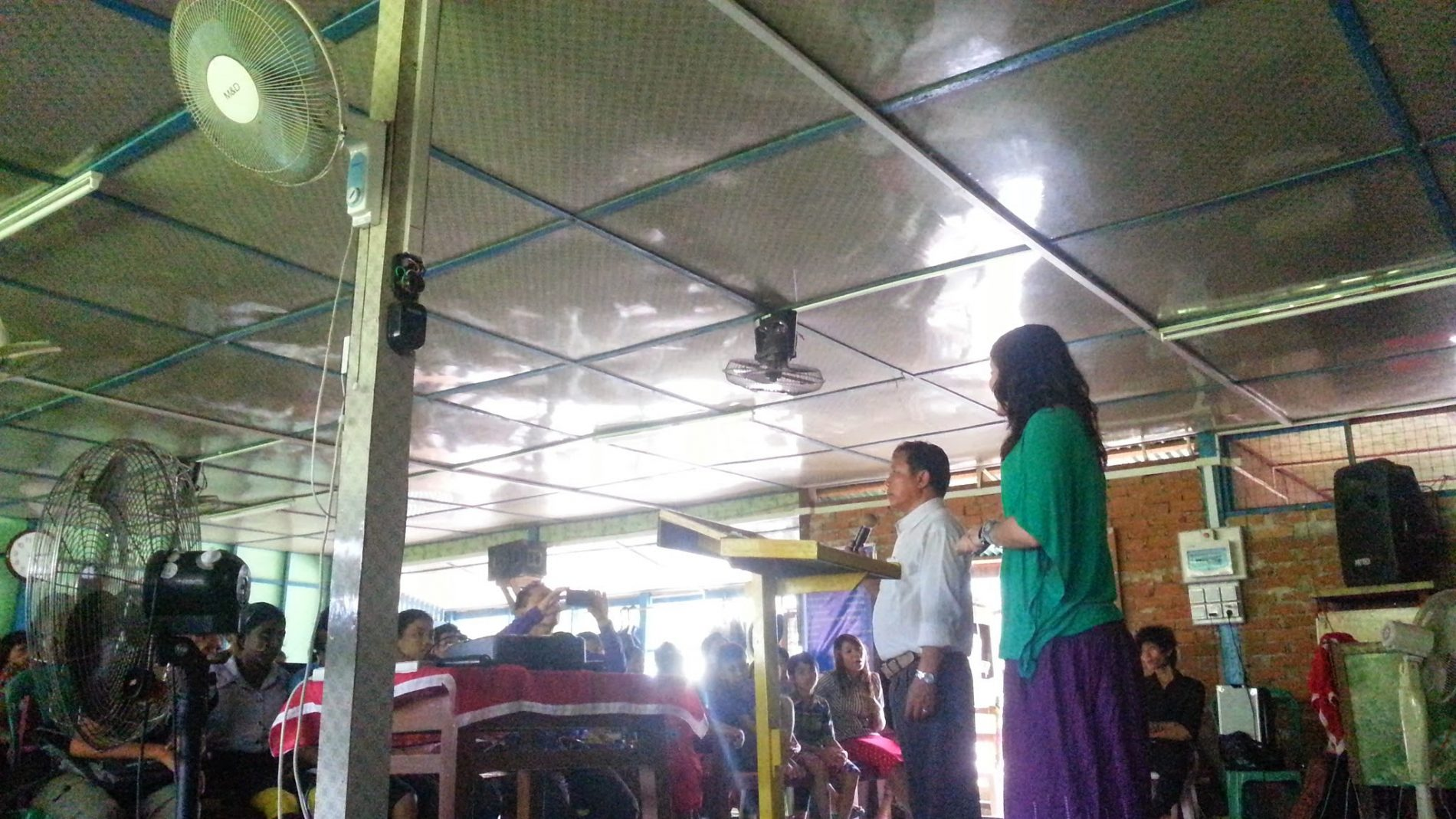A Speech to a Village in Myanmar