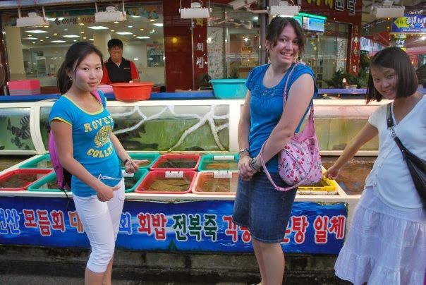 Korean Fish Market