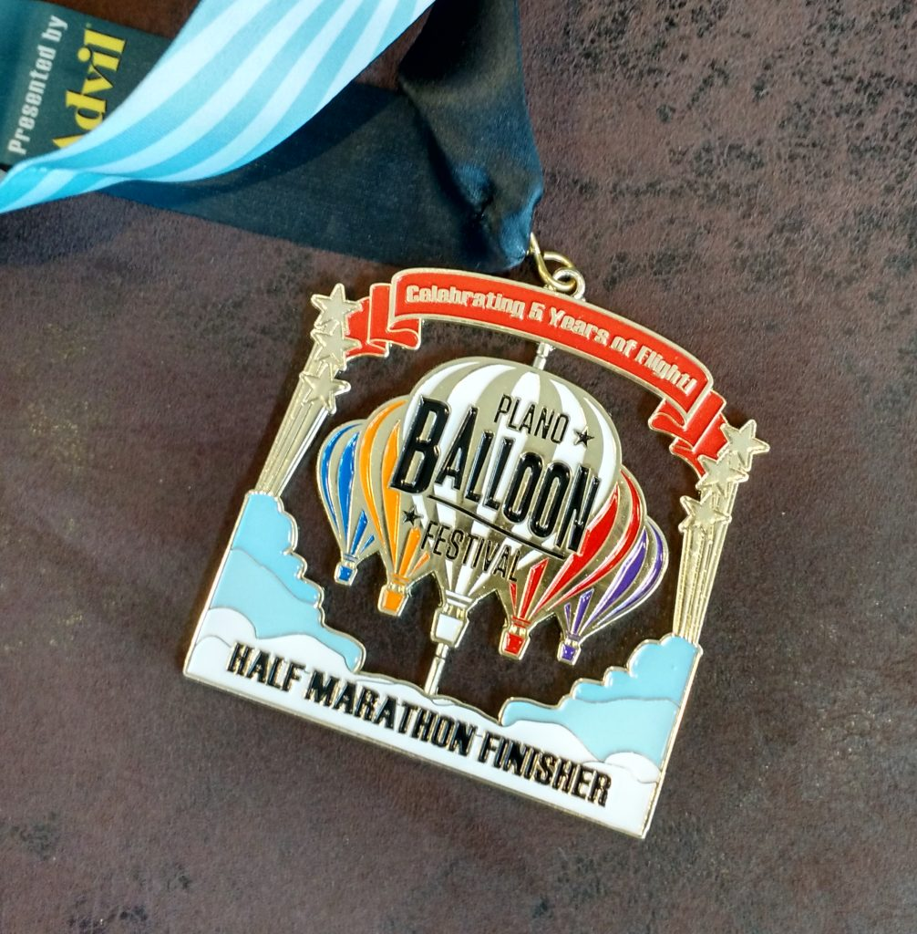 race finishers medal