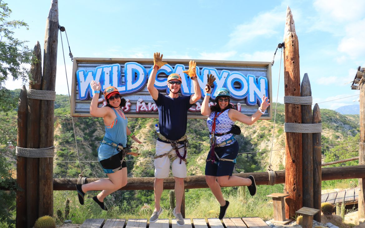 zip lines at wild canyon