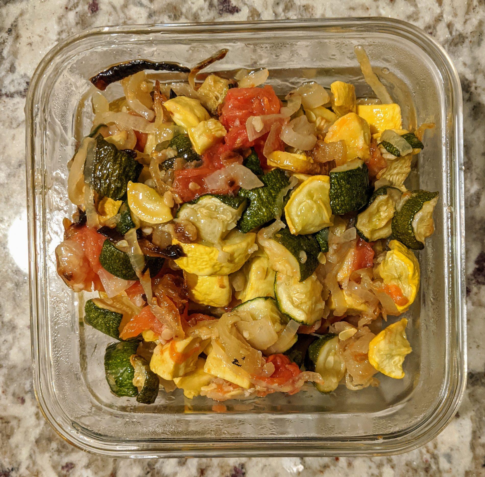 Roasted Vegetables, no added sugar