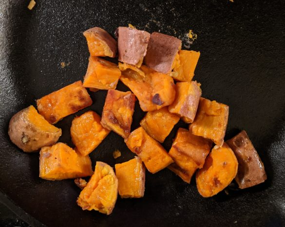 No added sugar sweet potatoes